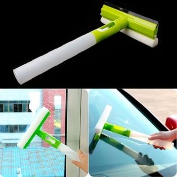Limpador de escova dobrável 3 em 1, limpador de janela de carro, limpador de vidro