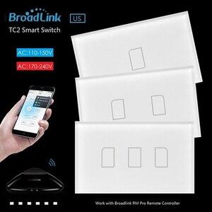 Image 3 - Originale Broadlink TC2 US Standard RF Interruttore Sul Pannello A Sfioramento 123 Gang RM PRO Smart Home, Casa Intelligente Universale Senza Fili WiFi RF A DISTANZA di Controllo