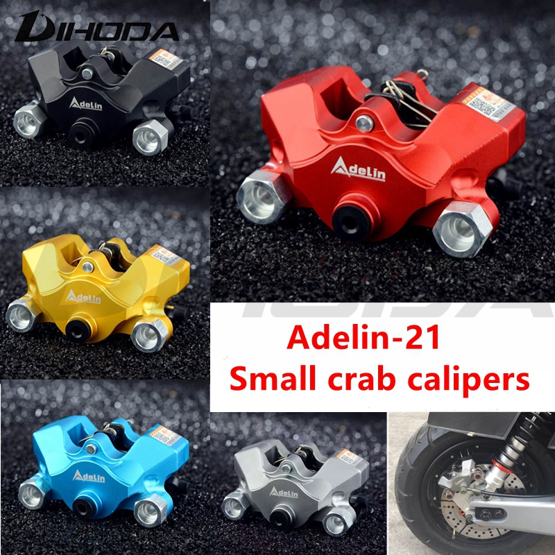 Adelin ADL 21 Motorcycle modification electric motorcycle double piston brake calipers For WISP RSZ YAMAHA Small crab calipers adelin adl 21 motorcycle modification electric motorcycle double piston brake calipers for wisp rsz yamaha small crab calipers