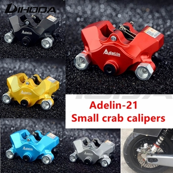 Adelin ADL-21 Motorcycle modification electric motorcycle double piston brake calipers For WISP RSZ YAMAHA Small crab calipers