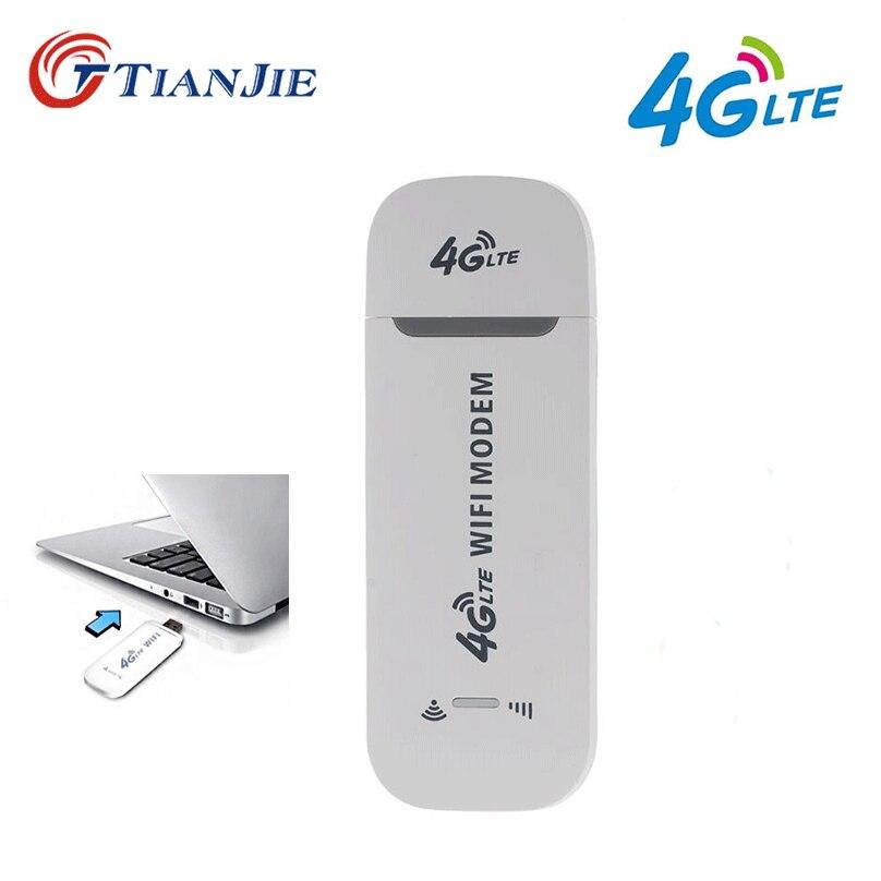 TIANJIE Dongle Modem Network-Stick Hotspot Router Sim Wifi Universal/portable 3g 4g Wireless