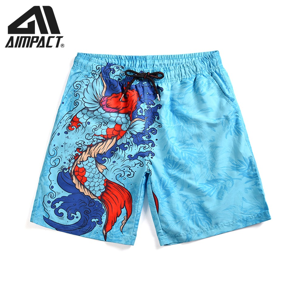 Boys Mens Swimming Board Print Swim Shorts Trunks Beachwear Summer Bathing Suit Holiday Men's Clothing