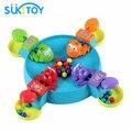 Juego de Escritorio clásico Dejó la Rana Comer Granos juego de la competencia Con Los Niños Montessori IQ juguetes Educativos Suave para niños