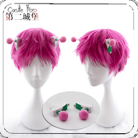 Saiki Kusuo no Psi Nan Cosplay Wig The Disastrous Life K Nan Cosplay Wig Hair Accessories Headwear