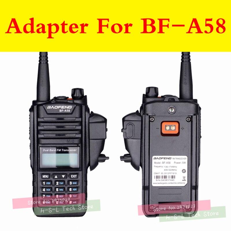 טלוויזיות 25 29 עבור מתאם אודיו Talkie Walkie Baofeng BF-9700 UV-XR UV-5S UV5R-WP BF-R6 GT-3WP T-57 UV-9R עבור M ממשק 2Pin אוזניות נמל (2)