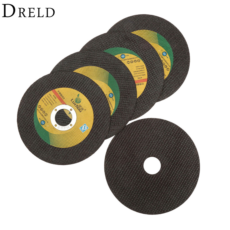цена на 5Pcs Dremel Accesories Cutting Disc 125mm Ultra-thin Resin Grinding Wheel Cut Off Cutter Abrasive Disc for Dremel Rotary Tool