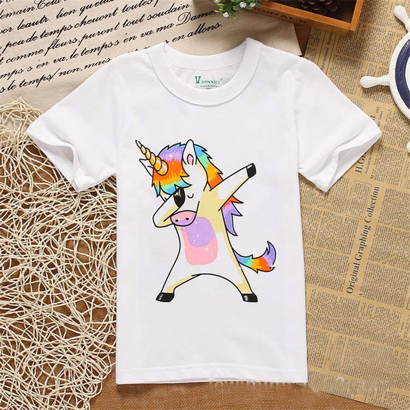 2018 Cotton Kids T-Shirt Children Summer Short Sleeve T-Shirts For Boys Girls Clothes Baby Boy T Shirt Toddler Tops summer t shirts for boys cotton kids shirts dinosaur short sleeve pullover clothes v neck boy t shirt fashion children clothing