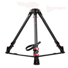 IFOOTAGE Wild Bull T5 Aluminum Legs Skilled Tripod for Video Digicam 88 lbs/40kg max load capability