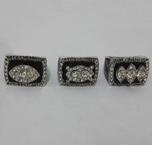 Venta al por mayor de la aleación anillos colecciones para réplica Super Bowl 3 años Sets 1976 / 1980 / 1983 Oakland Raiders anillo campeonato