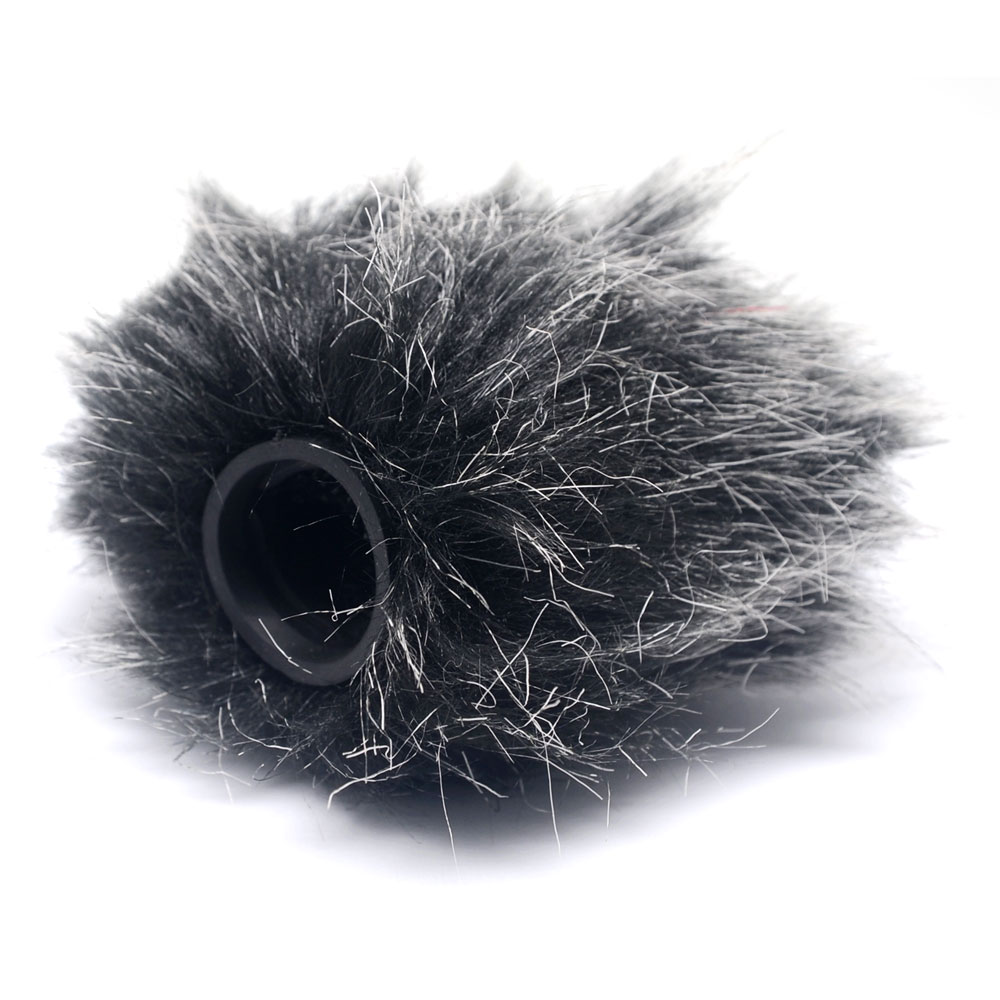 Mcoplus Microphone Mic Windshield Furry Fur Wind Muff Windscreen Cover For RODE VideoMicro Microphone Rode VideoMic Me Mic