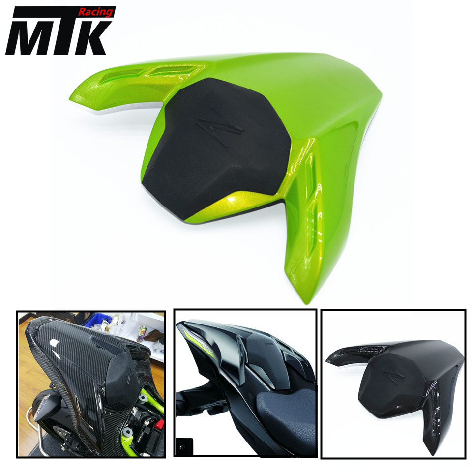 MTKRACING New seat cowl with rubber pad Tail Cover for kawasaki Z 900 2017 z900  Moto Motorcycle Accessories Parts xuankun vintage motorcycle modified coffee saddle cover seat cushion cover hump tail shell tail hood