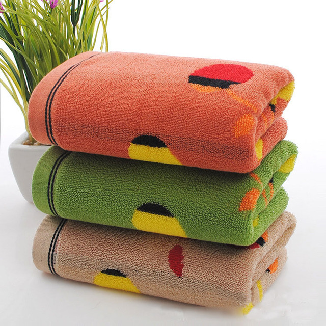 High quality 35*75cm 3pcs/lot 100% Cotton Hand Towel Set,Set of Plain Cotton Jacquard Face Terry Towels Bathroom,Serviette