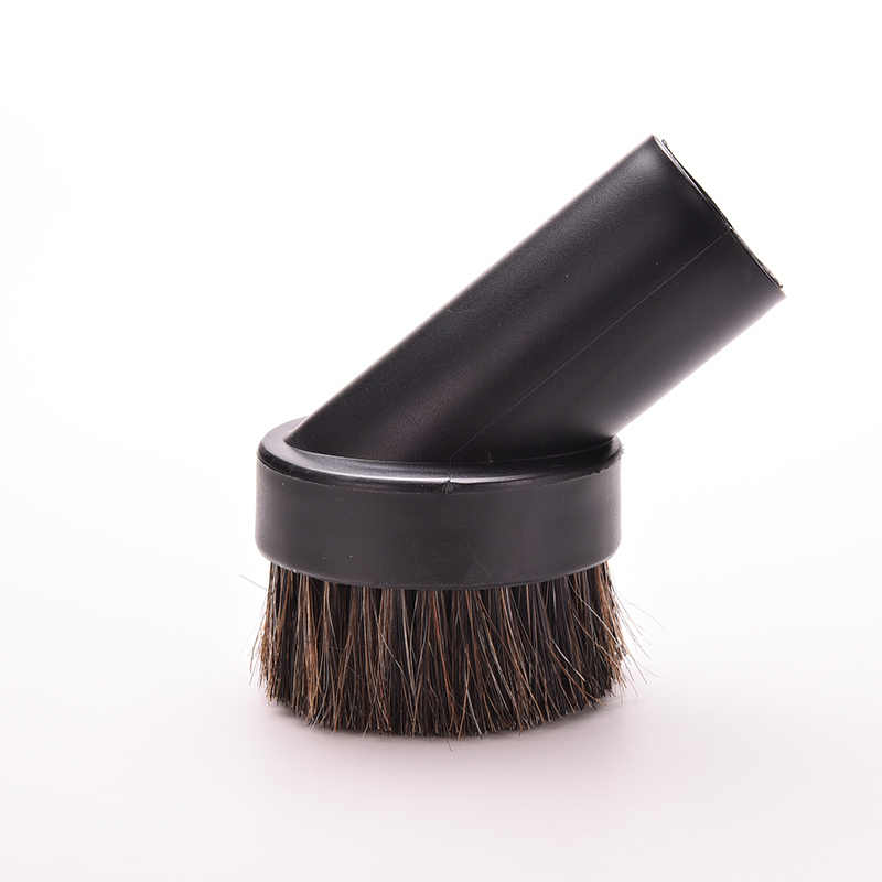 Horse Hair Round Dusting Brush Dust Tool Attachment fr Vacuum Cleaner Round 32mm