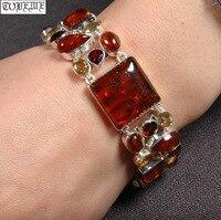 Handrafted непальский 100% 925 Серебряный браслет цепочка Винтаж 925 пробы ценный браслет Богемия очаровательный женский браслет
