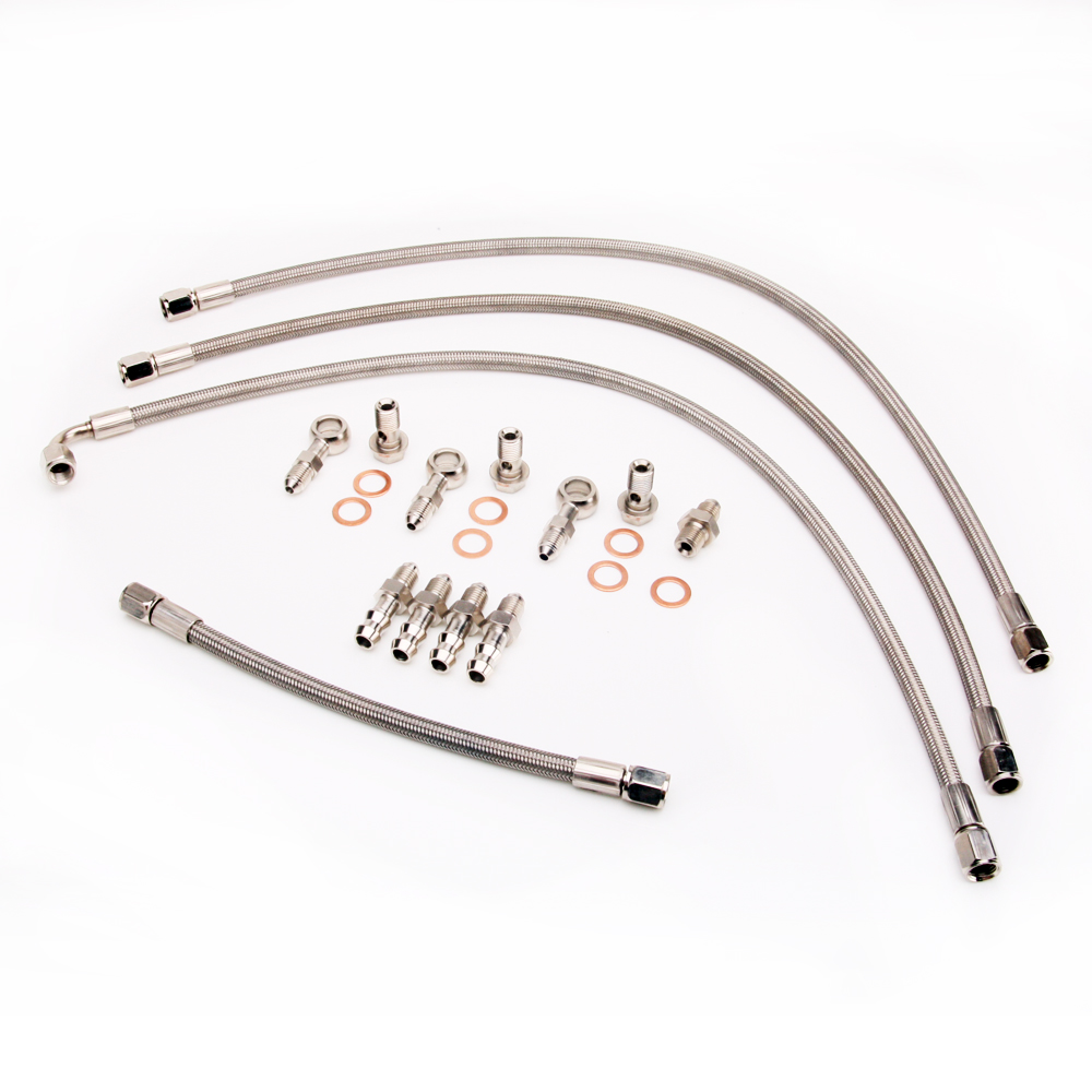 Kinugawa Turbo Water Line Kit for Mitsubishi 6G72T 3000GT VR4 for Dodge Stealth Twin TD04