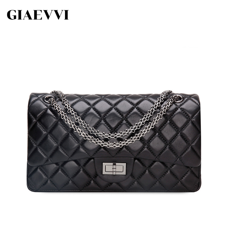 GIAEVVI women messenger bags 2018 brand genuine leather tote shoulder bag luxury handbag women crossbody bags designer handbags 3 7 6cm square shape save power eva foam paper craft punch greeting card handmade scrapbook diy toy puncher free shipping