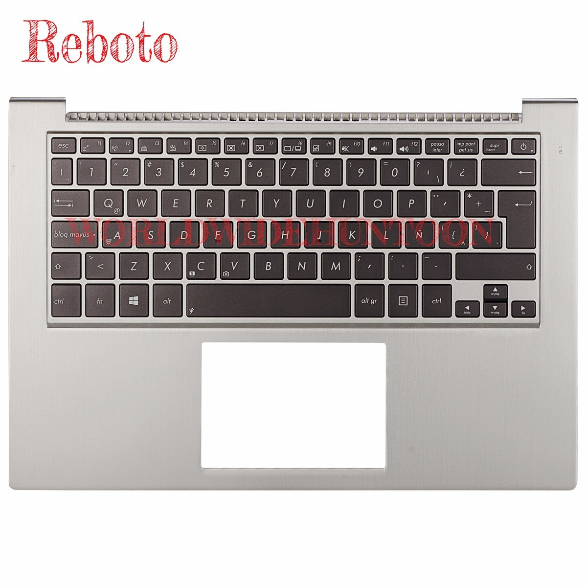 Reboto 100% Original and Brand New Spanish standard Laptop Keyboard for ASUS UX32E UX32VD SP Layout With backlit Palm rest new notebook laptop keyboard for asus mp 06913us 5281 k012462a1 sp layout