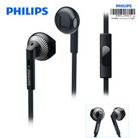 Philips Wired Earphone SHE3205 With 3 5mm Plug Microphone In Ear For Loptap Ipad MP4 Smartphone