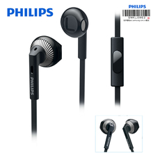 Philips Wired Earphone SHE3205 with 3.5mm Plug Microphone In Ear for Loptap Ipad MP4 Smartphone Galaxy 8 Official certification