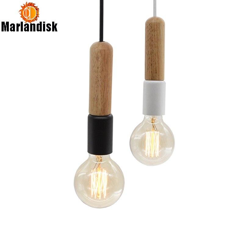 Simples criativo moderno pingente de madeira luz artesanal pingente luzes para sala estar jantar quarto foyer restaurante (DC-65)