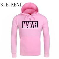 Newest Marvel Printed Hoodies Hip Hop Casual MARVEL Sweatshirt Thin MARVEL Printing Superman Series Coat COULHUNT