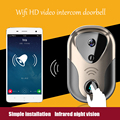 2016 HD 720P Wifi video door phone doorbell Wireless door intercom Support IOS Android for Smart Phone Night Vision Doorbell