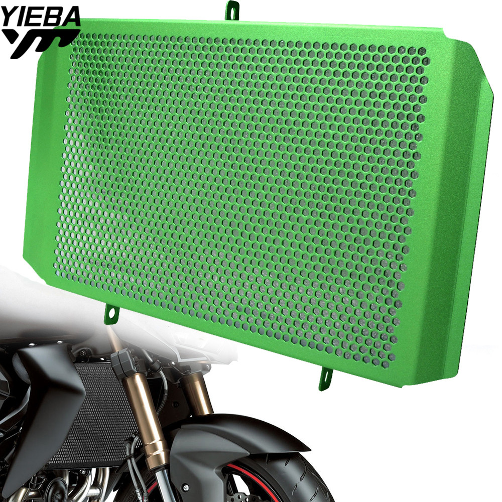 Motorcycle Aluminum alloy Radiator Guard Protector Grille Grill Cover for KAWASAKI Z1000SX Z 1000 SX NINJA