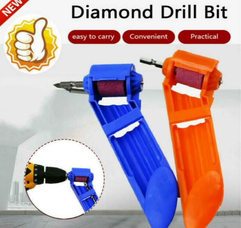 Corundum Grinding Wheel Multi-Function Drill Bit Sharpener Titanium Portable Powered Tool
