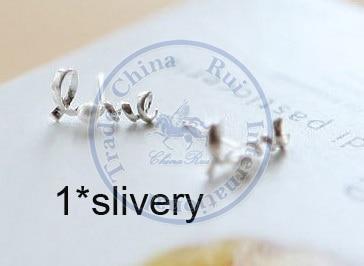 Stud Earrings ear rings Fashion for women Girls lady pearl letters design CN post