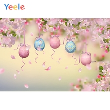 Yeele Balloons Ribbon Flower Backdrops Pet Portrait Photography Background Customized Photographic Backdrop For Photo Studio