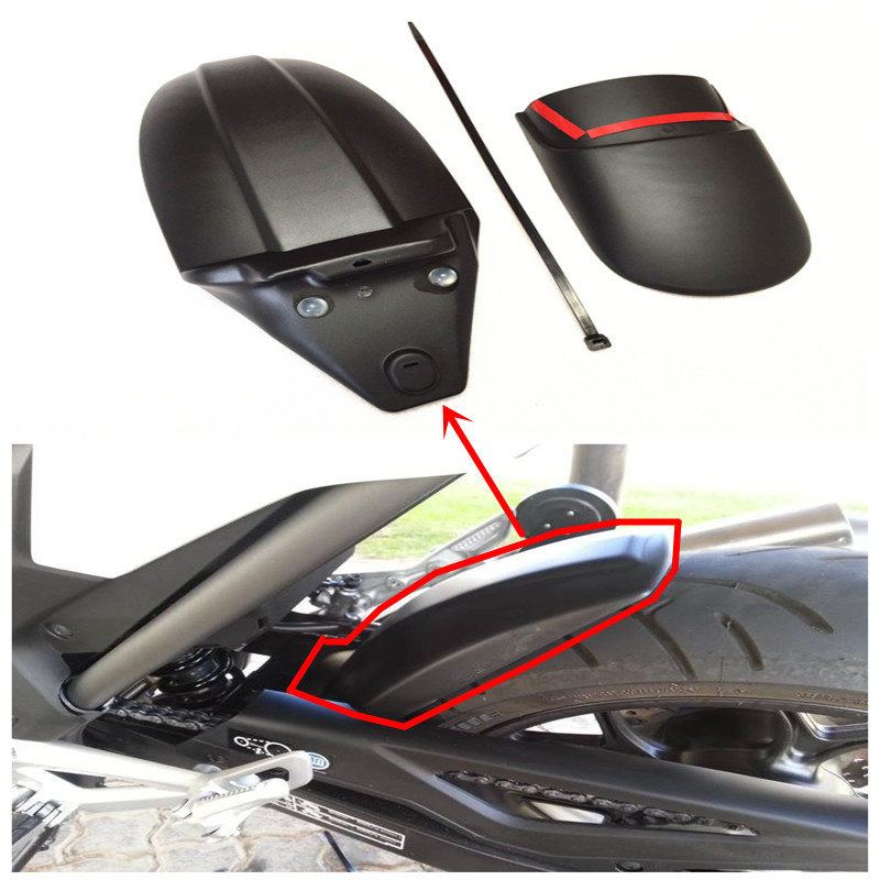 Motorcycle Front Mudguard Fender Rear Extender Extension for CTX700