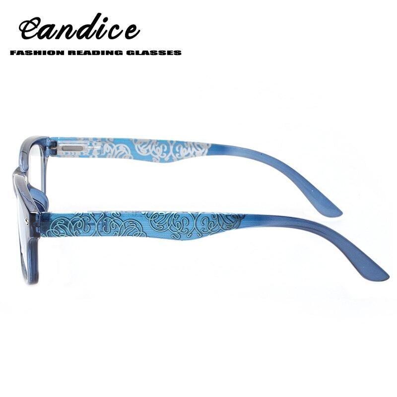 Henotin 2018 nuevas gafas de lectura retro Para hombres y mujeres primavera bisagra impresión calidad lectores 0,5 2,0 3,0 4,0 1,75