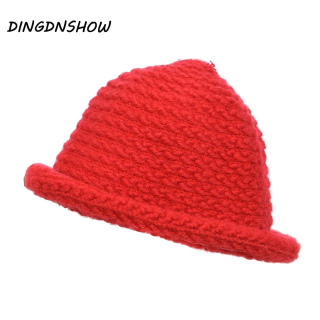 DINGDNSHOW  2018 Fashion Beanie Bonnet Cotton Kid Winter Hat Knitted Cap  Beanies Balaclava for Boy and Girl 8a9954ecbf4