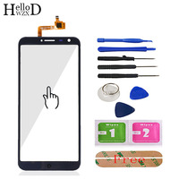 HelloWZXD 5 5 Mobile Phone Front Touch Glass For Oukitel C8 Touch Screen Glass Digitizer Panel