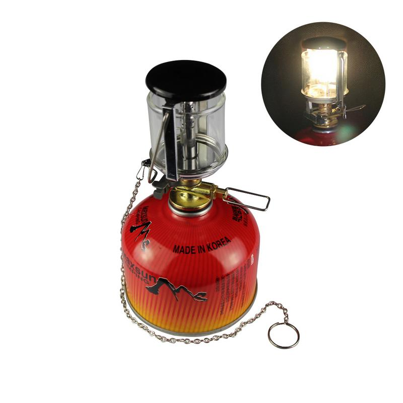 Outdoor Camping Portable Gas Heater Tent Mini Camping Lantern Gas Light Tent Lamp Torch