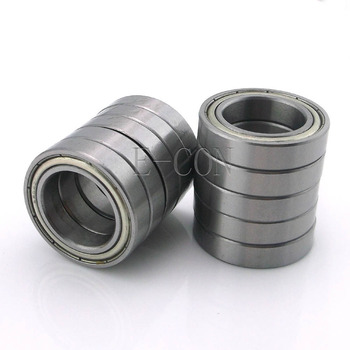 1/2/5/10PCS 6801ZZ Deep Groove Metal Double Shielded Ball Bearing (12mm*21mm*5mm) image