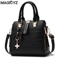 Casual Crocodile Leather Fringed Handbags High Quality Hotsale Ladies Party Purse Clutches Women Crossbody Portable Evening