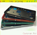 Original New For Sony Xperia Z3 Compact Mini M55W LCD Mid Board Middle Frame Plate Housing With Plug Cover + Buttons