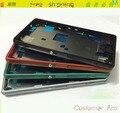Original nuevo para Sony Xperia Z3 compacto Mini M55W LCD mediados junta placa de bastidor medio con cubierta del enchufe + botones