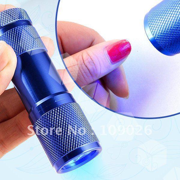 Mini UV Gel Acrylic Curring Lmap 0.6W Nail Art  Led UV Lamp Free Shippng