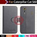 Hot!! em Estoque Para Caterpillar CAT S60 Caso 6 Cores Ultra-fino Couro Tampa Do Telefone Exclusivo Para Caterpillar CAT S60 + rastreamento