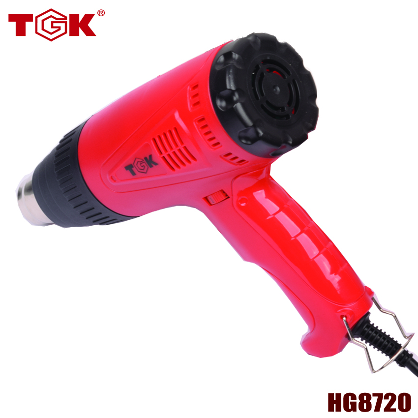 2000W Hot Air Gun Industrial Metal Paint Stripper Heat Gun with Temperature Adjustable Tools Heat Plastic Shrink Gun HG8720 heat gun 2000w 220v temperature adjustable temperature industrial electric hot air gun