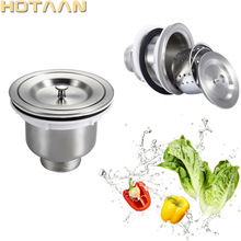 Kitchen Sink Stainless-Steel with Cover YT-9502 110mm Basket