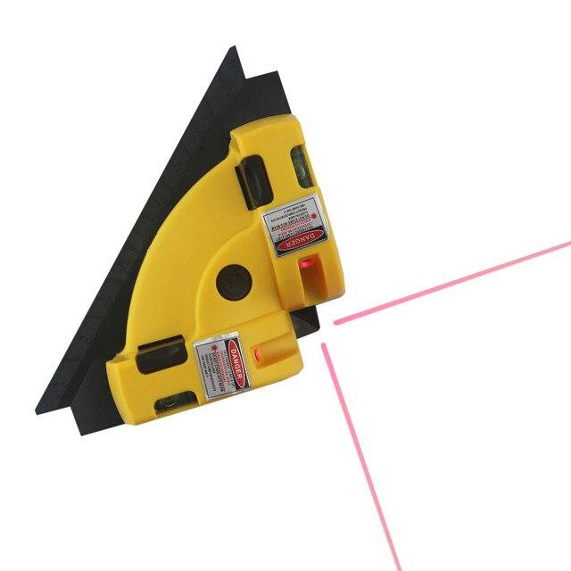 Rechtwinklig Laser niveau Rote Linie Platz Ebenen Projektion 635nm ...