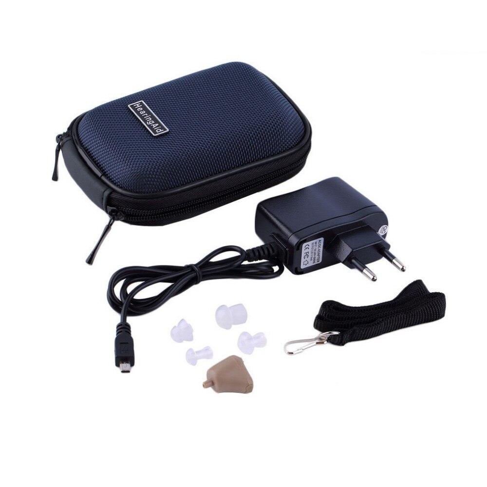 Nouveau ArrivalK-88 Dans Les Soins de L'oreille Mini Numérique Hearing Aids Aid Aide Réglable Amplificateur Sound Invisible Aide Auditive Sourds Aide