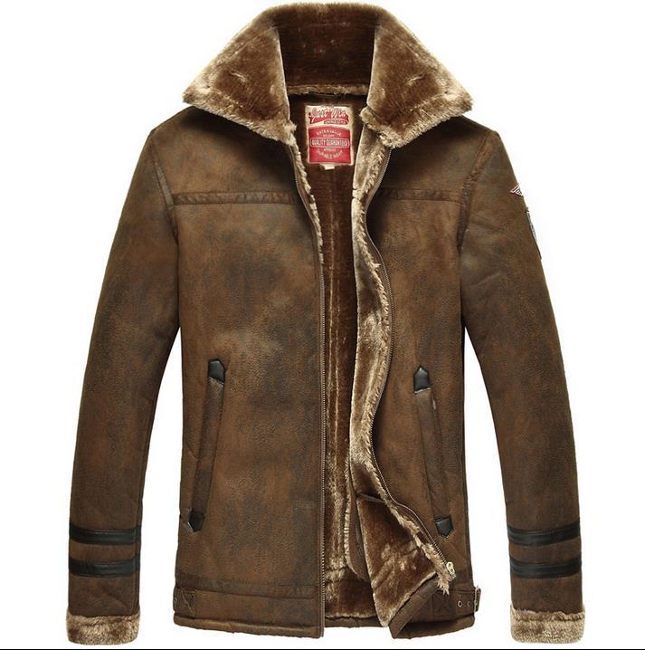 Leather Fur Jacket Men - Best Jacket 2017