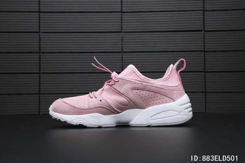 2018 Original Puma Phenom Satin EP Women s Pink Sneakers Suede Satin Badminton  Shoes Size 36- f61a53211