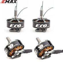 4pcs/lot EMAX ECO 2207 1700KV 1900KV 2400KV Motor for FPV RACER Quadcopter Kvadrokopter RC Drone Aircraft
