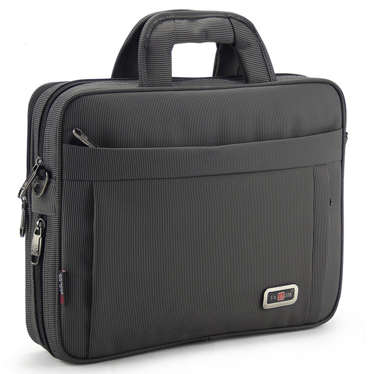 325# New Large-capacity Briefcase Oxford Bag Men Leisure Business Computer Bag Men's Single Shoulder File Bag Oxford Briefcases