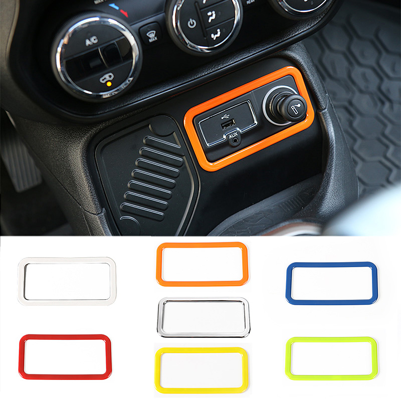 buy mopai abs car interior accessories cigar lighter decoration frame trim. Black Bedroom Furniture Sets. Home Design Ideas